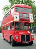 Londyński czerwony autobus zdjęcie stock