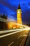 Londyński duch nocą obrazy royalty free