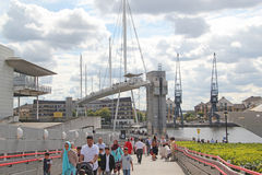 Londyński Excel teren Zdjęcia Royalty Free