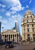 Londyński Królewski wekslowego budynku pieniężny okręg Fotografia Royalty Free