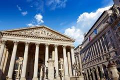 Londyński Królewski wekslowego budynku pieniężny okręg Obraz Stock