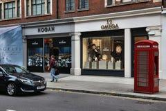 Londyński luksusowy zakupy obrazy stock