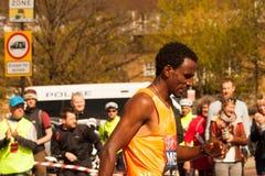 Londyński maraton AMANUEL MESEL Zdjęcie Stock