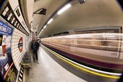 Londyński metro fotografia royalty free