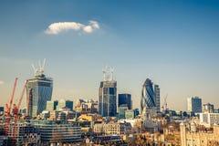Londyński miasto Obraz Royalty Free