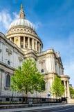 Londyński miasto, Anglia/: St Paul katedra obraz royalty free