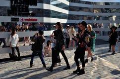 Londyński moda tydzień 2014 obrazy stock