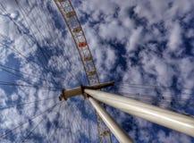 Londyński oka Ferris koło obrazy royalty free