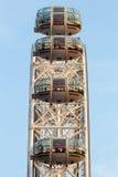 Londyński oka Ferris koło Zdjęcie Royalty Free