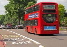 Londyński Olimpijski pas ruchu zdjęcia stock