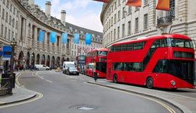 Londyński Piccadilly cyrk w UK obraz royalty free
