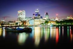 Londyński pieniężny okręg Zdjęcia Royalty Free
