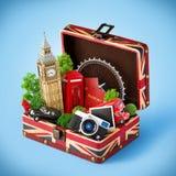Londyński podróżny pojęcie zdjęcia royalty free