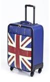 Londyński Rzemienny bagaż Obrazy Royalty Free