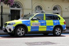 Londyński samochód policyjny Fotografia Royalty Free