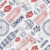 Londyński tło Obrazy Stock