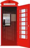 Londyński telefoniczny budka royalty ilustracja