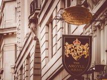Londyński UK chorągwiany karczemny jawnego domu znak znać jako pub, Zjednoczone Królestwo Obrazy Royalty Free