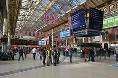 Londyński Wiktoria dworzec zdjęcia stock