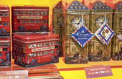 Londyńskie pamiątki Obrazy Stock