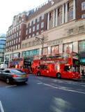 Londyńscy autobusy Obraz Stock