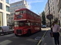Londyńscy autobusy Obrazy Stock