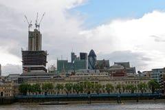 Londyńscy budynki w wszystkie ich chwale Zdjęcie Royalty Free