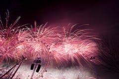 Londyńscy fajerwerki Obraz Stock