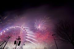 Londyńscy fajerwerki Zdjęcie Royalty Free