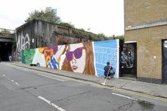 Londyńscy graffiti fotografia royalty free