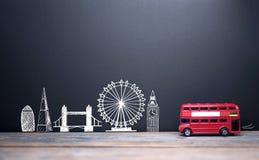Londyńscy linia horyzontu punkty zwrotni Obraz Royalty Free