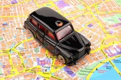 Londyńska Czarny Taksówka Obrazy Royalty Free