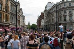 Londyńska Homoseksualnej dumy parada 2017 Fotografia Royalty Free