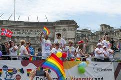 Londyńska Homoseksualnej dumy parada 2017 Obrazy Royalty Free