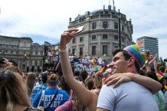 Londyńska Homoseksualnej dumy parada 2017 Zdjęcia Stock