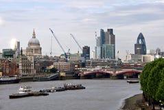 Londyńska linia horyzontu Obrazy Royalty Free