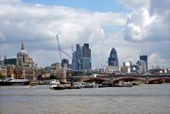 Londyńska linia horyzontu Obrazy Stock