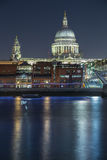 Londyńska miasta StPaul ` s katedra Zdjęcie Stock