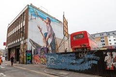 Londyńska Uliczna sztuka Obraz Stock