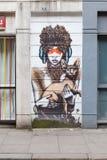 Londyńska Uliczna sztuka Zdjęcia Royalty Free
