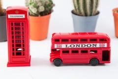Londyński autobus Obrazy Stock