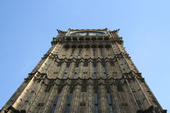 Londyński Big Ben i parlament Zdjęcia Royalty Free