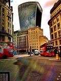 Londyński biznes Fotografia Royalty Free