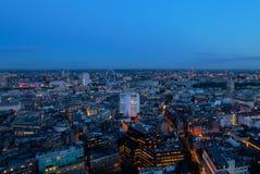 Londyński Centre punkt Wiew Zdjęcie Royalty Free