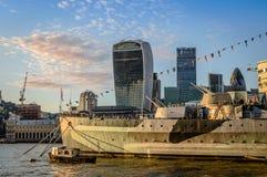 Londyński Cityspace Obraz Stock