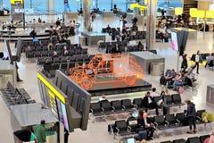 Londyński Heathrow czekania teren Zdjęcie Stock