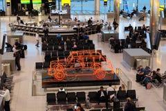 Londyński Heathrow czekania teren Obraz Stock