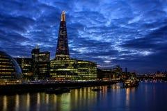 Londyński i czerep Obrazy Stock