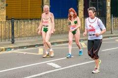 Londyński maraton 2016 Obrazy Royalty Free