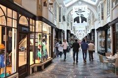 Londyński Mayfair zakupy Zdjęcia Royalty Free